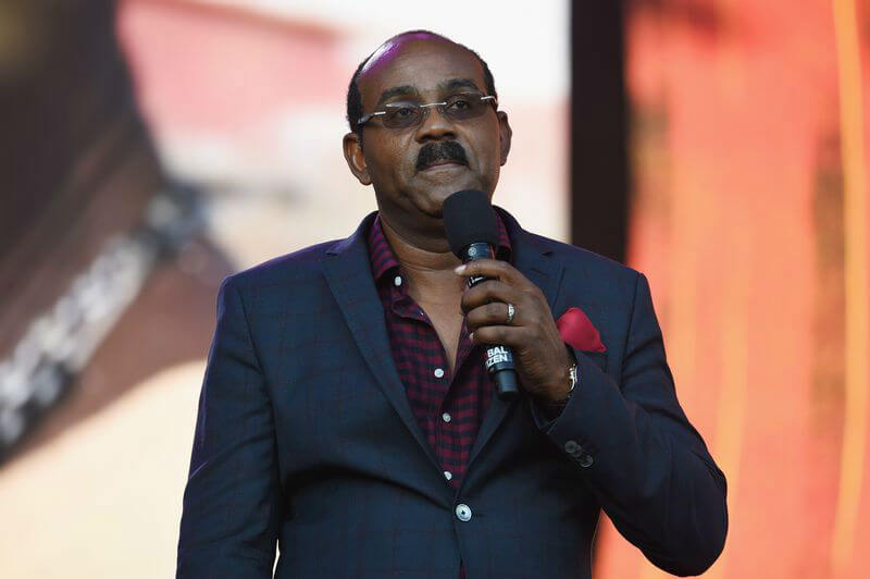 Primer ministro de Antigua y Barbuda, Gaston Browne. Foto: Michael Kovac / Getty Images / Vox